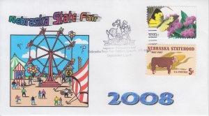 2008  USA Nebraska State Fair Pictorial CG