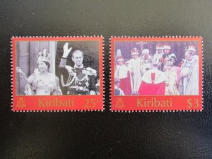 Kiribati #825-26 Mint Never Hinged (M7N4) - Stamp Lives Matter! 2