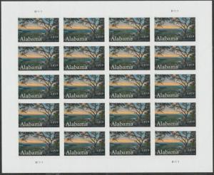 US 5360 Statehood Alabama forever sheet (20 stamps) MNH 2019