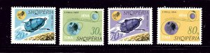 Albania 941-44 MNH 1966 Space Flight