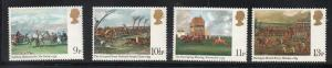 Great Britain Sc 863-6 1979 Derby Horses stamp set mint NH