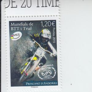 2015 Fr Andorra Mountain Bikes (Scott 750) MNH
