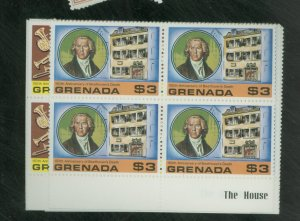 Grenada #865-71 MINT Blocks F-VF NH Cat $25