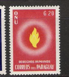 PARAGUAY 568 MNG UN HUMAN RIGHTS Q288A