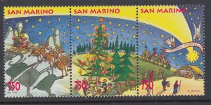 San Marino 1342 Christmas MNH VF