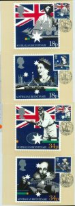 81364 - GREAT BRITAIN - Postal History: 4 MAXIMUM CARDS - CRICKET Shakespeare
