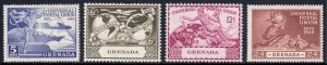 Grenada - Scott #147-150 - MH - SCV $2.30