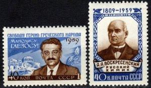 Russia #2270-1 MNH CV $9.75  (X4914)