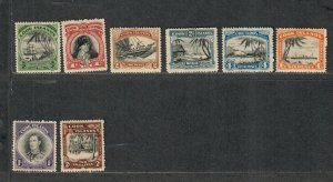 Cook Islands Sc#116-124 M/NH/VF, Cv. $100
