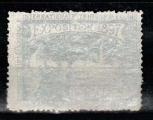 1897 Exposition Bruxelles Internationale Tentoonstelling vignette MH*