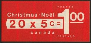Canada 502a BK73a MNH Christmas, Children