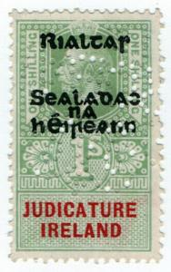 (I.B) George V Revenue : Judicature Ireland 1/- (Provisional Government OP)