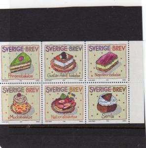 Sweden Cake Pastry  MNH
