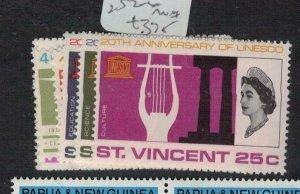 St Vincent SG 229-30, 252-6 MNH (2eei)