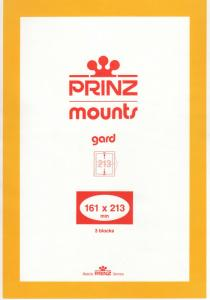 PRINZ 161X213 (3) CLEAR MOUNTS RETAIL PRICE $10.50