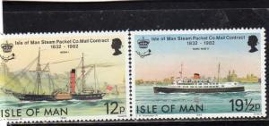 Isle of Man Anniv Steam Packet Contract  MNH