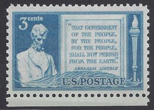 # 978 3c 85th Anniv. Gettysburg Address 1948 Mint NH