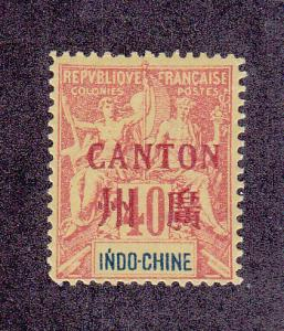 French Offices In China (Canton) Scott 10 MLH