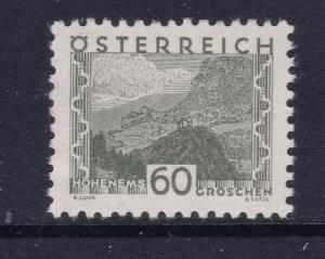 Austria x 3 MH from the 1932 deff set