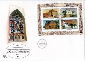 SWA - 1981 Luderitz Buildings MS FDC SG MS385