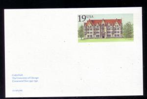 U.S. Postal Card Unused UX161