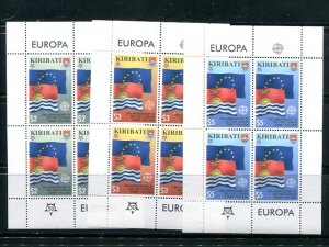 Kiribati  2006  Europa mini sheets .  Mint VF NH