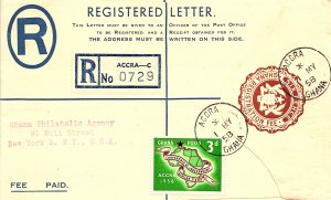 Ghana, Postal Stationary
