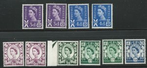 Scotland 1-13 MNH/Mint