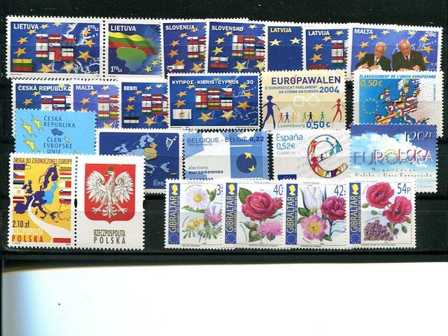 Europa CEPT  2004 selection VF NH  - Lakeshore Philatelics