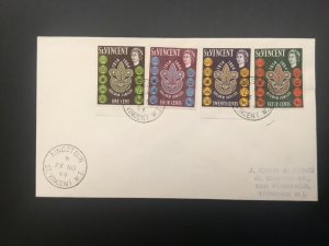ICOLLECTZONE  Boy Scout St Vincent 1964 First Day Cover (D100)