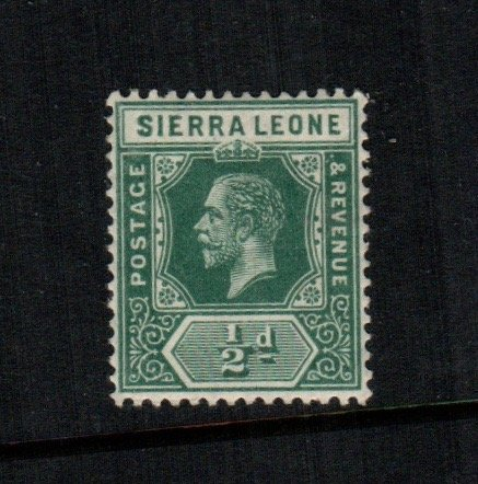 Sierra leone  103  MH cat $  4.50