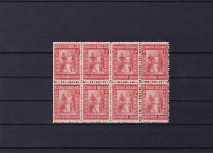 belgium congo mounted mint block  stamps ref r15799
