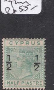 Cyprus SG 25 Small Thin MNG (1dgv)