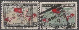 Canada #85-6 F-VF Used CV $18.00 (A16874)