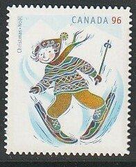 2008 Canada - Sc 2294i - MNH VF - 1 single - Christmas - Skiing
