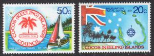 Cocos Islands Scott 32-33