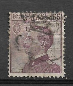 COLLECTION LOT OF #580 ITALY # 106 1920 CV=$ 37.50