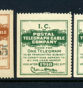 Scott #15TO12  Postal Telegraph Company Mint Stamp (Stock 15TO12-3)