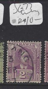SARAWAK  (PP3010B)  2 C BROOKE     SG 77  LIMBANG   VFU