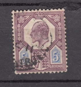 J28090 1902-11 great britain used #134 king