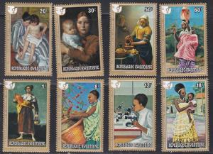 Rwanda # 665-672, Int'l Womens Year, NH, 1/3 Cat