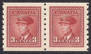 Canada #265 3 cent George 6, CP Stamp Mint OG NH EGRADED SUPERB 100 XXF