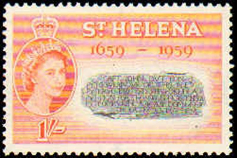 ST HELENA #156-158  MINT NEVER HINGED COMPLETE SET ( 3 )