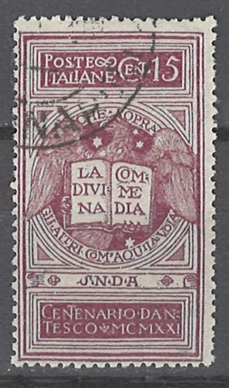 COLLECTION LOT # 2426 ITALY #133 1921 CV=$32