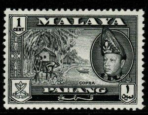 MALAYA PAHANG SG75 1957 1c BLACK MNH