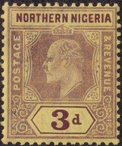 Northern Nigeria #32 Mint