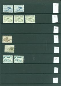 EDW1949SELL : GREENLAND Collection between Scott #82//157 All VFMNH Cat $264.40+