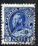 Canada 1922-31 KG5 8c blue used SG 252