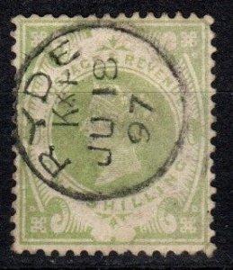 Great Britain #122  F-VF Used   CV $72.50  (X1293)