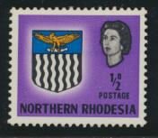 Northern Rhodesia  SG 75 SC# 75 MH - see details